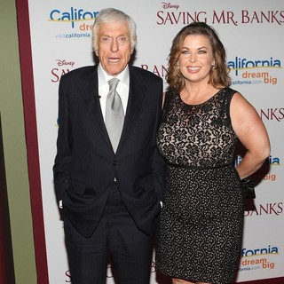 Dick Van Dyke, Arlene Silver in Saving Mr. Banks Los Angeles Premiere