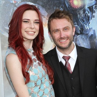 Chloe Dykstra, Chris Hardwick in Los Angeles Premiere of Pacific Rim