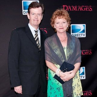Dylan Baker, Becky Ann Baker in Damages Season 4 Premiere - Arrivals