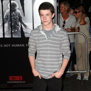 Dylan Minnette in Los Angeles Premiere of The Thing