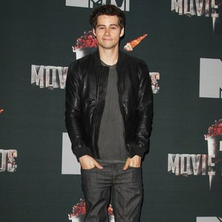 Dylan O'Brien in MTV Movie Awards 2014 - Press Room