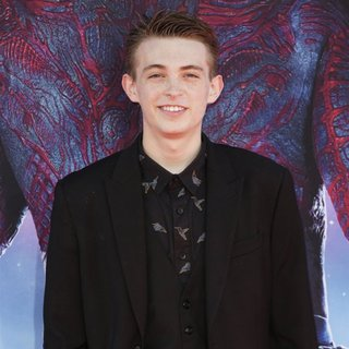 Dylan Riley Snyder in Film Premiere of Guardians of the Galaxy