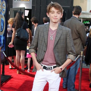 Dylan Riley Snyder in The World Premiere of Glee The 3D Concert Movie - Arrivals