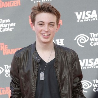Dylan Riley Snyder in The World Premiere of Disney-Jerry Bruckheimer Films' The Lone Ranger