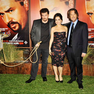 Danny McBride, Ana de la Reguera, Steve Little in The Premiere of 'Eastbound & Down Season 2'