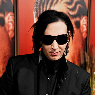 Marilyn Manson in The Premiere of 'Eastbound & Down Season 2'