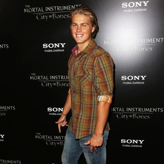 Easton Mitchell in Premiere of Screen Gems and Constantin Films' The Mortal Instruments: City of Bones