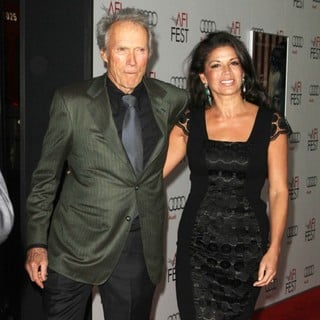 Clint Eastwood, Dina Eastwood in AFI Fest 2011 Opening Night Gala World Premiere of J. Edgar