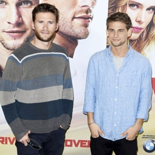 Scott Eastwood, Freddie Thorp-Overdrive Berlin Photocall