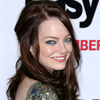 Emma Stone in Los Angeles Premiere of 'Easy A'