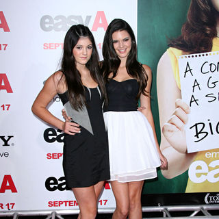 Kylie Jenner, Kendall Jenner in Los Angeles Premiere of 'Easy A'