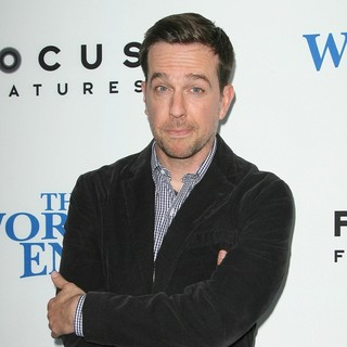 Ed Helms in The World's End Hollywood Premiere
