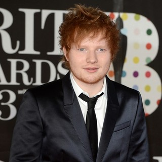 Ed Sheeran in The 2013 Brit Awards - Arrivals