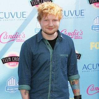 Ed Sheeran in 2013 Teen Choice Awards