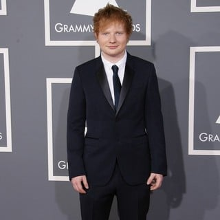 Ed Sheeran in 55th Annual GRAMMY Awards - Arrivals