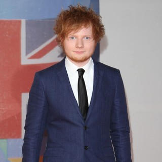 Ed Sheeran in The BRIT Awards 2012 - Arrivals