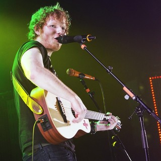 Ed Sheeran in iTunes Festival 2012
