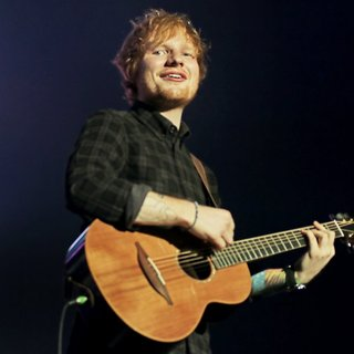 Ed Sheeran Performing Live on Stage