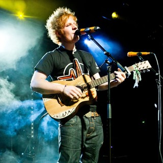 Ed Sheeran in Ed Sheeran Performs Live at Rock City