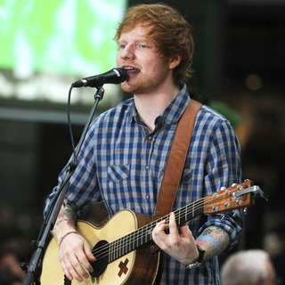 Ed Sheeran Performs on NBC's The Today Show
