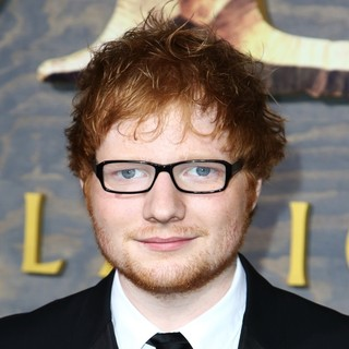 Ed Sheeran in The Hobbit: The Desolation of Smaug Los Angeles Premiere