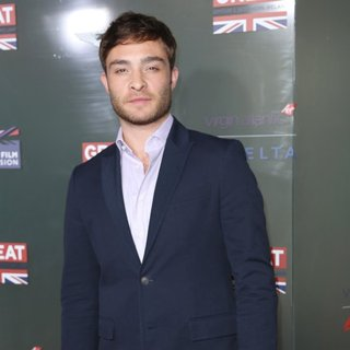 Ed Westwick in GREAT British Film Reception Honoring British Academy Award Nominees