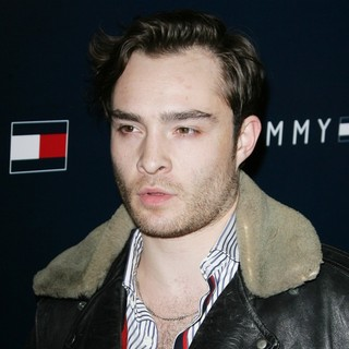 Ed Westwick in Party to Celebrate The Opening of The New Tommy Hilfiger West Coast Flagship Store