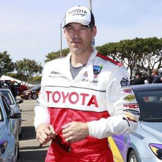 Eddie Cibrian in The 36th Annual Toyota Pro-Celebrity Race - Press Practice Day