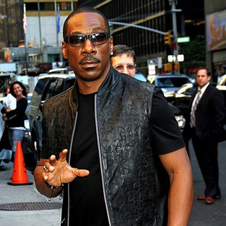 Eddie Murphy in The Late Show with David Letterman - Arrivals