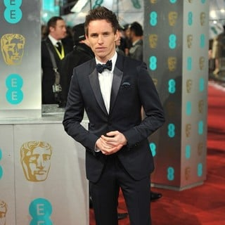 Eddie Redmayne in The 2013 EE British Academy Film Awards - Arrivals