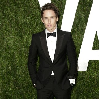 Eddie Redmayne in 2013 Vanity Fair Oscar Party - Arrivals