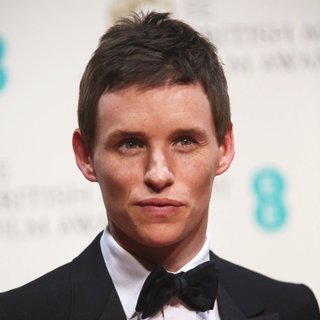 Eddie Redmayne in EE British Academy Film Awards 2014 - Press Room