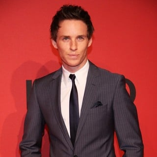 Eddie Redmayne in Mercedes-Benz Fashion Week Berlin Autumn-Winter 2013 - HUGO by HUGO BOSS - Arrivals - Front Row
