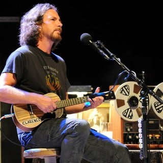 Pearl Jam - Eddie Vedder performs at the Carre Theatre