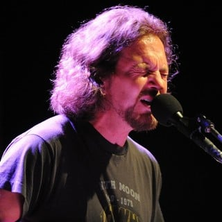 Eddie Vedder performs at the Carre Theatre