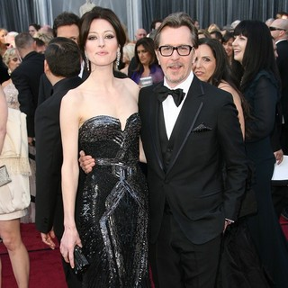Alexandra Edenborough, Gary Oldman in 84th Annual Academy Awards - Arrivals