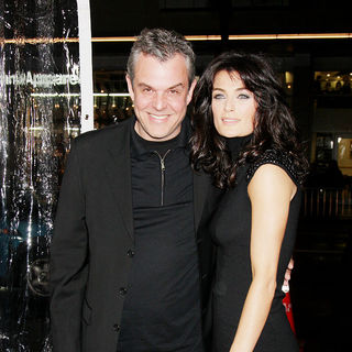 Danny Huston, Lyne Renee in Los Angeles premiere of 'Edge of Darkness'