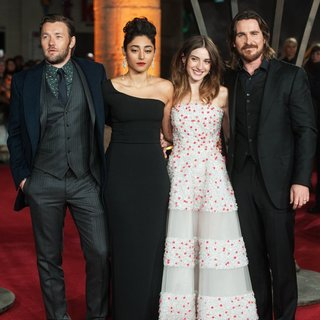 Joel Edgerton, Golshifteh Farahani, Maria Valverde, Christian Bale in Exodus: Gods and Kings UK Film Premiere - Arrivals