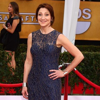 Edie Falco in 19th Annual Screen Actors Guild Awards - Arrivals