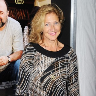 Edie Falco in New York Screening of Enough Said - Red Carpet Arrivals