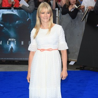 Prometheus UK Film Premiere - Arrivals - edith-bowman-uk-premiere-prometheus-02