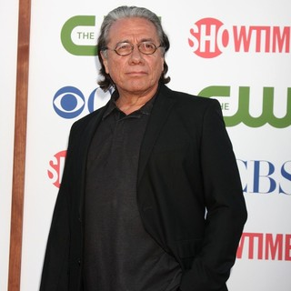 Edward James Olmos in CBS, The CW and Showtime TCA Party