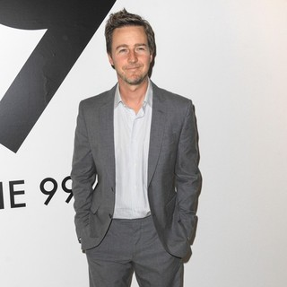 Edward Norton in All in for The 99 Percent Art, Music and Cultural Activism Benifit - Arrivals