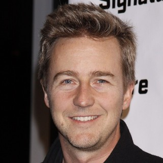 Edward Norton in Opening Night After Party for Hurt Village - Arrivals