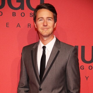 Edward Norton in Mercedes-Benz Fashion Week Berlin Autumn-Winter 2013 - HUGO by HUGO BOSS - Arrivals - Front Row