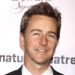 Edward Norton in The Pershing Square Signature Center Opening Gala Celebration - Arrivals