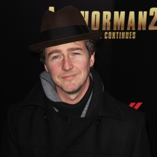 Edward Norton in Anchorman: The Legend Continues Premiere Sponsored by Buffalo David Bitton