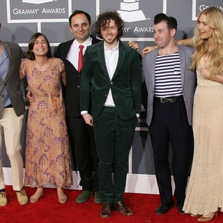 Edward Sharpe & The Magnetic Zeros in 55th Annual GRAMMY Awards - Arrivals
