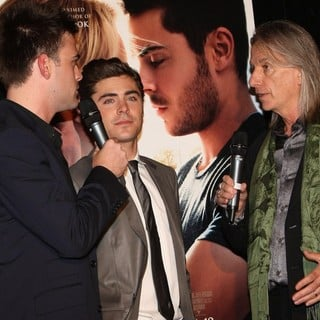 Zac Efron, Scott Hicks in Australian Premiere of The Lucky One