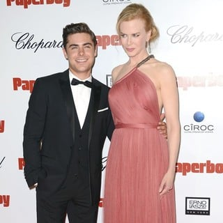 Zac Efron, Nicole Kidman in The Paperboy Afterparty Premiere - During The 65th Cannes Film Festival